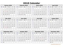 free calendar templates printable calendar 2018 free download yearly calendar templates