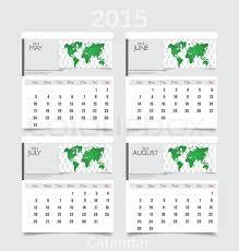 Calendars For June And July 2015 Simple 2015 Year Calendar May June Stock Vector