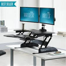 Furniture office workspace cool macbook air Mac Proplus Crains Chicago Business Standing Desks Adjustable Sit Stand Desks Varidesk