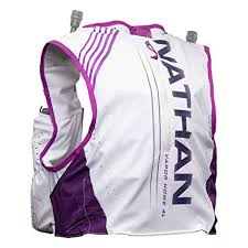 Nathan Womens Hydration Pack Running Vest Vaporhowe 4l 2 0 4l Capacity With Twin 20 Oz Soft Flasks Bottles Hydration Backpack Running Marathon