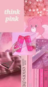 Baby pink aesthetic phone wallpaper ...