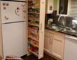 Superior Small Kitchens Pullout Pantry