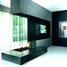 double sided fireplace indoor outdoor two 2 design ideas side
