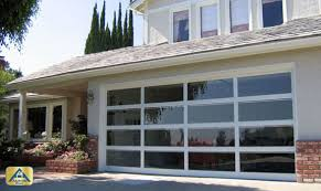 clear garage doorsCustom Exterior Front Glass Doors for Home  Garage Doors Orange