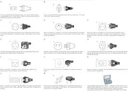 International Electric Plug Adapters Voltages For The