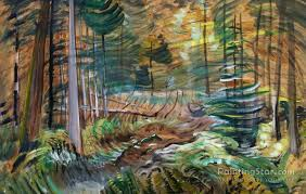 forest interior artwork by emily carr