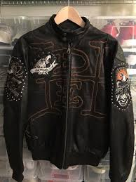 ed hardy moto leather jacket