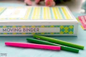 Free Printable Moving Checklist Free Moving Binder Printable