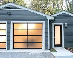 Beautiful Modern Garage Doors Cost Best 25 Glass Door Ideas Only And Decorating