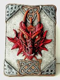 dragon box polymer clay cover by susabe