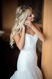 down wedding hair. Wedding Hair How To Wear Your Down On The Big Day Inside 50th