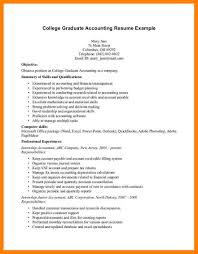 6 Accounting Student Resumes Collection Of Solutions Application