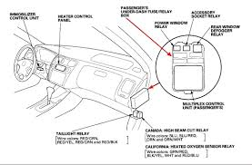 have a 1999 honda accord lx 2 check for poor connections or loose wires at c102 located under the under hood fuse relay box primary ho2s relay fuse 6 in passenger s side fuse relay