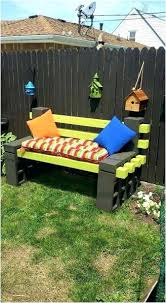 cinder block furniture. Cinder Block Patio Furniture Ideas Creative And Decor 5