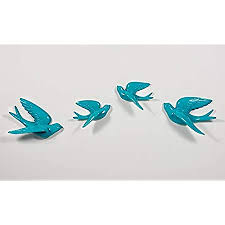 Home sweet home wall decor w/ family of birds doves ceramic art hanging (t). Buy Karigaari Polyresin Wall Hangings White Online At Low Prices In India Amazon In