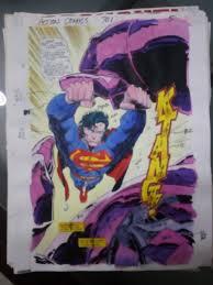 1215 x 1500 jpeg 517 кб. Comic Art Shop Us And European Artwork S Comic Art Shop Original Color Guide Splash Page Superman 70 The Largest Selection Of Original Comic Art For Sale On The Internet