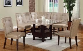 Britney Casual Cream Walnut Pu Wood 6pc Dining Room Set The Classy
