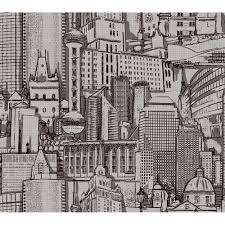 York Wallcoverings American Classics Architectural Drawing