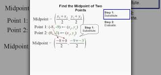 how to find the midpoint of two points using formula math wonderhowto
