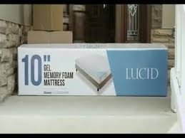 memory foam mattress topper box.  Memory Lucid 3 Intended Memory Foam Mattress Topper Box