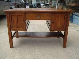 antique furniture mission oak partners desk