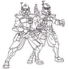 Clone Trooper Kleurplaat