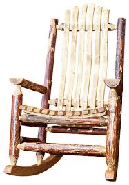 wooden rocking chair plans. montana woodworks adult log rocking chair in glacier country rustic-rocking- chairs wooden plans