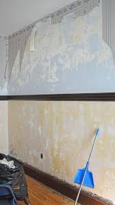remove wallpaper paste from plaster