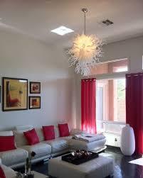 110 pure white art glass chandelier