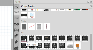 make your own fritzing parts learn sparkfun com core tab
