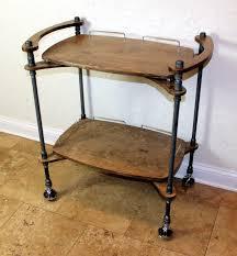 iron pipe furniture. Iron Pipe Furniture. Wood \\u0026 Two-tiered Bar Cart - Image Furniture