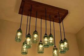 diy mason jar chandelier tutorial jar light fixture chandelier s