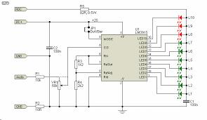 led audio vu meter figure 1 figure 1 the led vu meter circuit