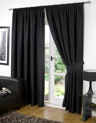 blackout shades for baby room. The Benefits Of Blackout Shades For Baby Room : Elegant Black Curtain Glass Doors W