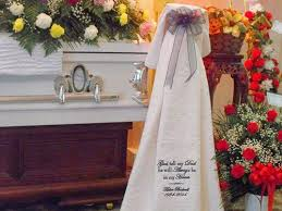 Funeral Throw Blankets