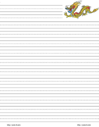 Free Lined Paper For Kids Enchanting Printable Cursive Paper Primary Tablet Template Lined Word