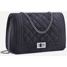 Best 25+ Quilted handbags ideas on Pinterest | DIY quilted bags ... & Black Velvet Quilted Mini Flap Chain Bag ❤ liked on Polyvore featuring bags,  handbags, Adamdwight.com