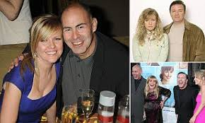 Ashley Jensen's husband is found dead at home | Daily Mail Online