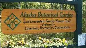 visiting alaska botanical garden in anchorage alaska united states