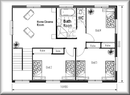 Floor Plans For Small Homes Custom Cottage Floor Plans  Home Small Home Floorplans