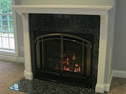 cast iron fireplace doors