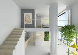 Two story apartment Loft Private Commission Interior Design Of Two Story Apartment based On Existing Floor Plan Which We Slightly Altered Joa Herrenknecht Interior Design Apartment Joaherrenknechtcom