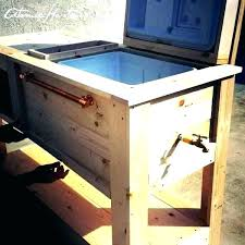 outdoor cooler cart cooler cart outdoor bar cooler cart patio and is almost complete now i outdoor cooler cart