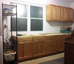 old kitchen furniture. reuse old kitchen cabinets in garage to create a workbench with storage furniture c