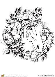 Coloriage Cheval Imprimer Sur Hugolescargot Com