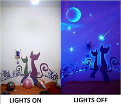 how to diy glow in the dark paint wall murals