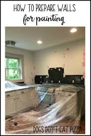 how to prepare walls for painting thediybungalow com