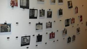 Interesting Photo Display Ideas You Have To Try Keribrownhomes Polaroid  Wall Without Frame. small apartment
