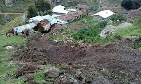 LIVITACA: deslizamiento en Huaynapata, Unión Ccora
