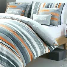 orange and gray bedding quilts orange and grey quilt orange and gray bedding set single duvet